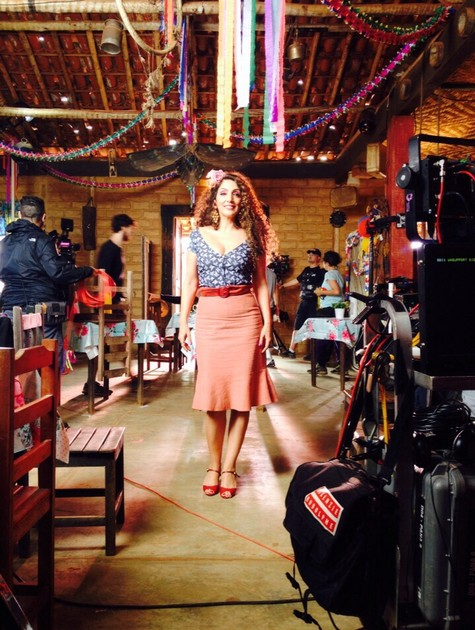 Flávia Garrafa no filme 'Tudo bom, tudo bem' (Foto: Divulgação)