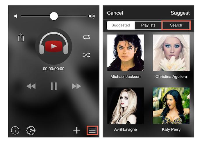 Encontrando conteúdos do YouTube para fazer streaming no iPhone com o Tuner for YouTube Music (Foto: Reprodução/Marvin Costa)