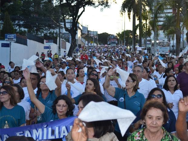 Concentração acontece a partir das 15h, na Avenida Epitácio Pessoa (Foto: Divulgação/Pascom)