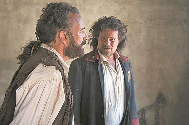 Marco Ricca e Felipe Camargo (Foto: Cesar Alves/TV Globo)