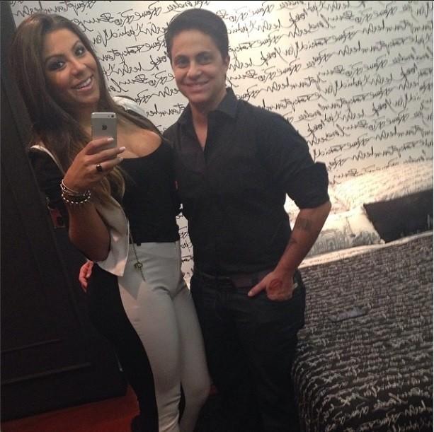 Andressa Ferreira e Thammy Miranda (Foto: Reprodução Instagram)
