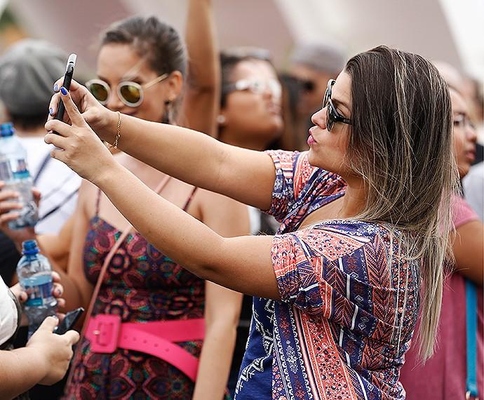 Selfie! (Foto: Fábio Rocha/Gshow)