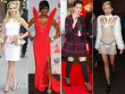 Fashion ou exagerado? Veja looks de Katy Perry, Miley Cyrus e outras