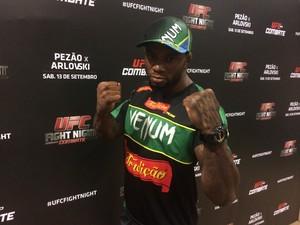 Wendell Negão UFC Brasília (Foto: Fabrício Marques)