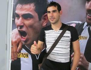 Herrera se despede do Botafogo (Foto: Rafael Cavalieri / Globoesporte.com)
