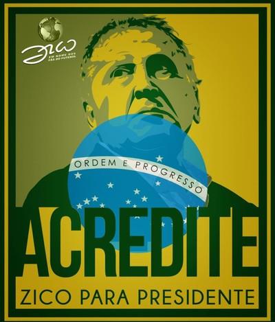Zico Fifa campanha (Foto: Divulgação)