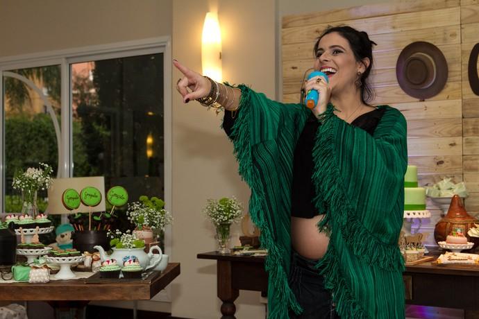 Shana chá de fralda gonçalo (Foto: Maicon Hinrichsen/RBS TV)