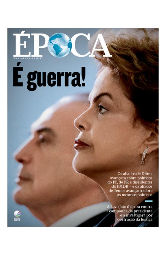 Capa edição 930 (Foto: Época )