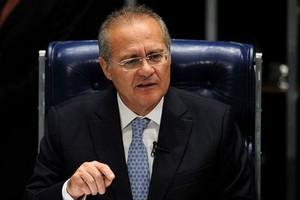 Renan Calheiros, presidente do Senado  (Foto: AFP)