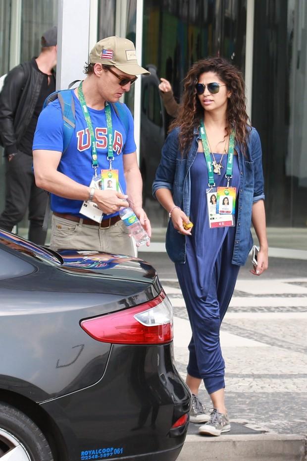 Matthew Mcconaughey e Camila Alves (Foto: Delson Silva dos Santos / AgNews)