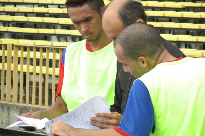 Treino Enxuga Rato (Foto: Emanuele Madeira/GloboEsporte.com)