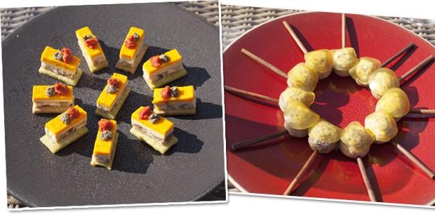 Os pratos do Chef Thomás Ferrini (Foto: Divulgação)