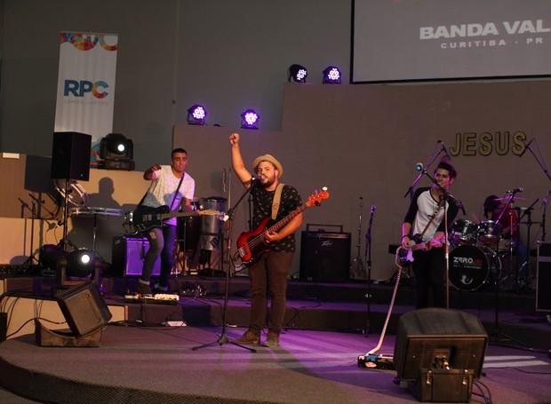 Banda Vale, de Curitiba, também foi uma das selecionadas (Foto: Rafael Veraldo/ RPC)