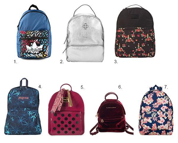 Opções de mochila para você adotar (Foto: Divulgação)