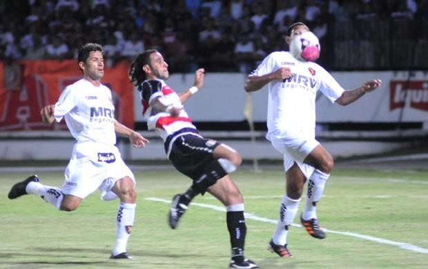 Santa Cruz x Sport (Foto: Aldo Carneiro)