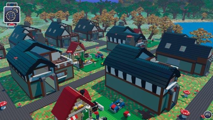 O mundo de Lego Worlds é totalmente customizável (Foto: Divulgação)