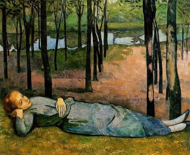 Émile Bernard, Madeleine au Bois d'Amour (1888) (Foto: Divulgação)