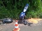Motociclista de 31 anos morre após colisão com caminhão em Brotas, SP