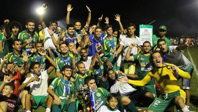 Gurupi coquista o hexacampeonato (Foto: Vilma Nascimento/GloboEsporte.com)
