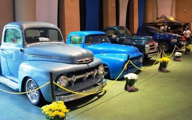 Veículos antigos ficarão expostos em Águas de São Pedro (Foto: Divulgação/Pick-ups Club)