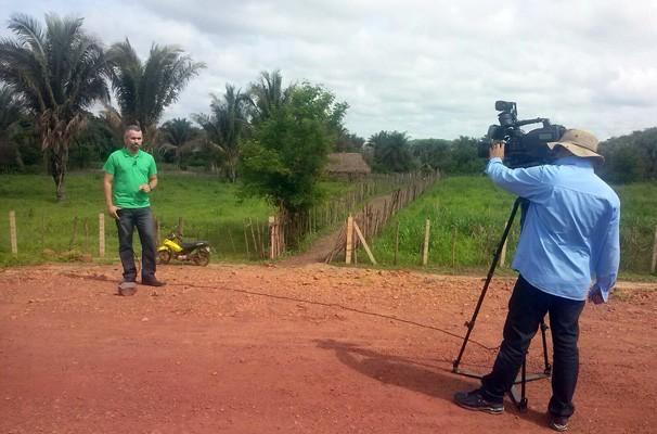 Renan Nunes comanda o Clube Rural deste sábado (29) (Foto: Katylenin França/TV Clube)