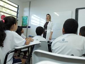 A Escola de Aplicação Yolanda Queiroz é reconhecida nacionalmente pelo seu trabalho com as crianças (Foto: Ares Soares/Unifor)