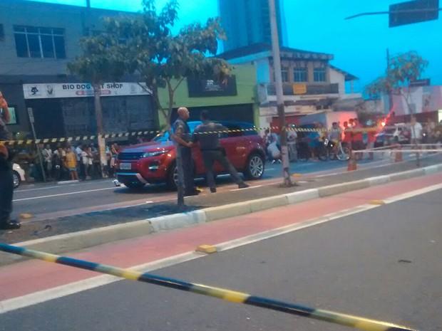 Mulher morreu ao ser baleada em avenida na Zona Norte de São Paulo (Foto: Alexandre Rosado/Arquivo pessoal)