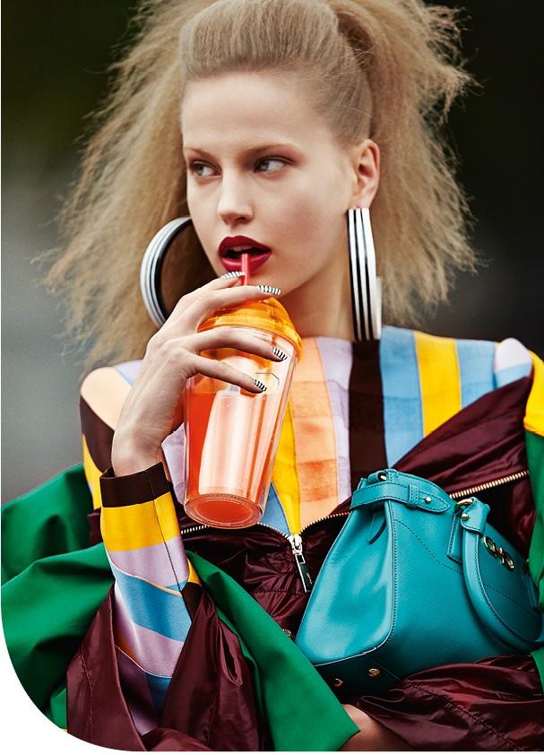 top moda listras - abre  (Foto:      )