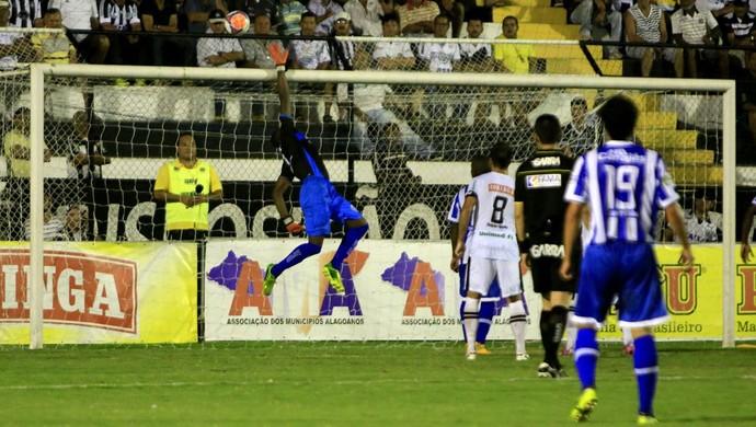 ASA x CSA, em Arapiraca (Foto: Ailton Cruz/ Gazeta de Alagoas)