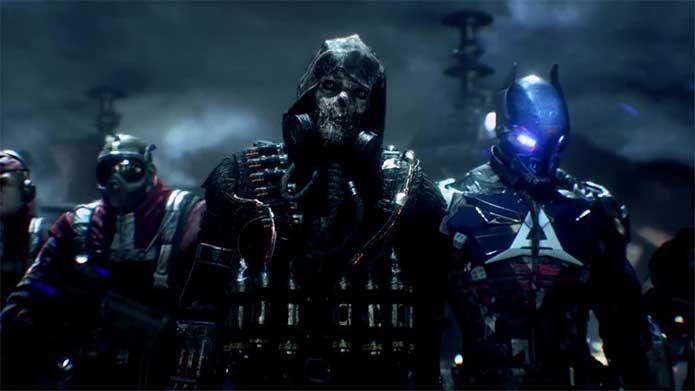 Espantalho e Arkham Knight são os vilões do jogo (Foto: Reprodução/Felipe Vinha)