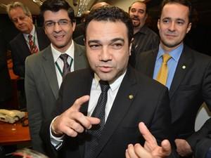 O deputado Marco Feliciano (PSC-SP), que criticou a sanção (Foto: Valter Campanato/ABr)