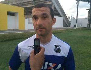 Ranielle Ribeiro - preparador físico do ABC (Foto: Carlos Cruz/GloboEsporte.com)