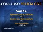 Polícia Civil encerra inscrições para concurso de escrivão e agente