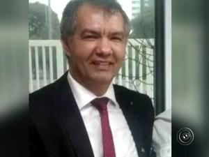 José Cabral Dias é suspeito de fazer parte de quadrilha de traficantes em Sorocaba (Foto: Reprodução/TV TEM)