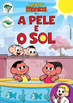 Capa do DVD que será distribuído em escolas de São Paulo (Foto: Sociedade Brasileira de Dermatologia/Divulgação)