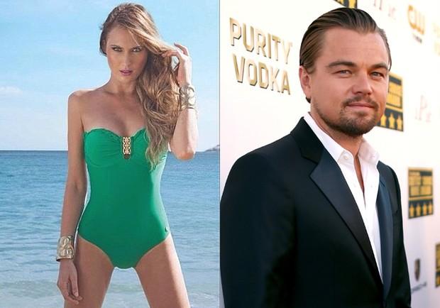 Eliza e Leonardo Di Caprio (Foto: Christopher Polk/ Getty Images/ AFP)