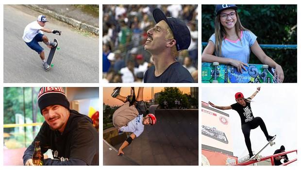 Skatistas brasileiro (Foto: Divulgao)