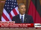 Obama diz que enviará reforço à Síria para lutar contra o Estado Islâmico