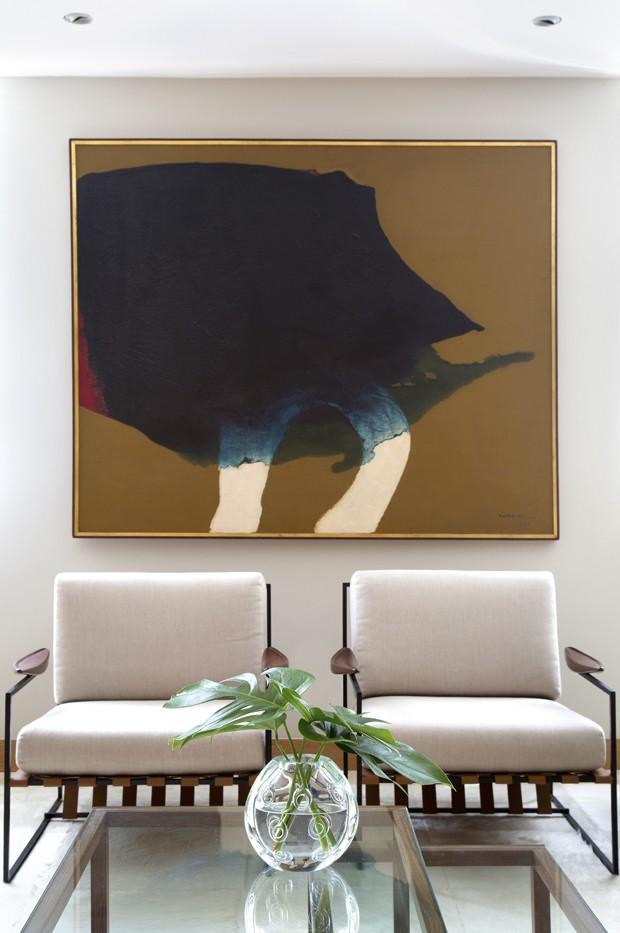 Após reforma, apartamento ganha sala de 74 m² (Foto: Divulgação)