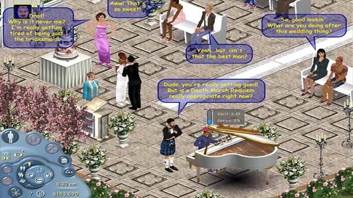 Apesar da popularidade da série, The Sims Online foi um grande fracasso (Foto: mashtomatoes.blogspot.com)