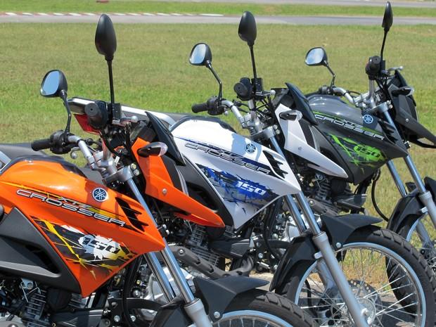 Yamaha Crosser 150 (Foto: Rafael Miotto/G1)