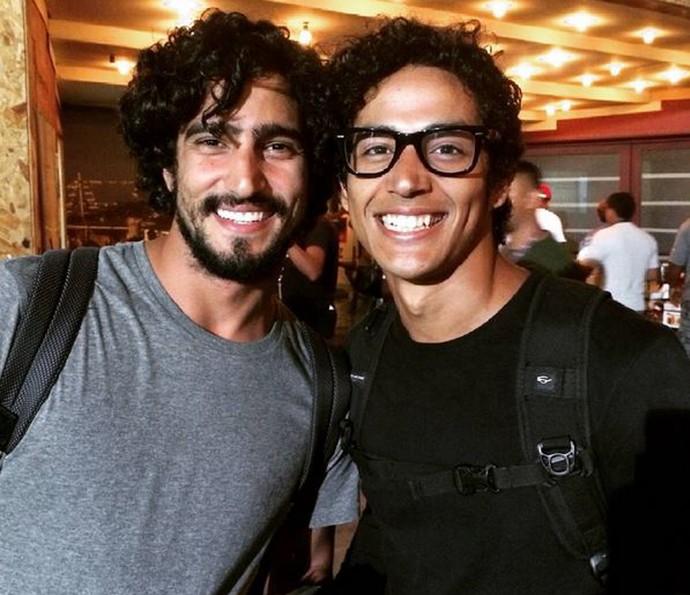Renato Goes e Diyo Coelho serão os irmãos Santo e Bento na próxima novela das 9 (Foto: Arquivo Pessoal)