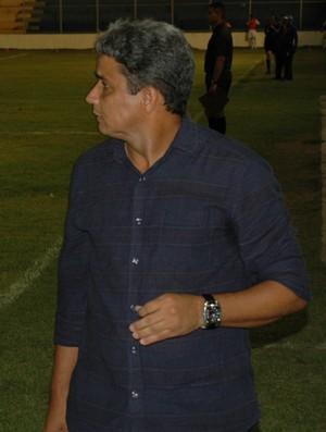 Reginaldo Sousa, técnico do Nacional de Patos (Foto: Richardson Gray / Globoesporte.com/pb)