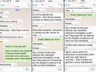 Jovem denuncia assédio de suposto funcionário da NET pelo WhatsApp