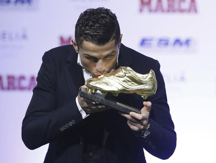 Cristiano Ronaldo Chuteira de ouro (Foto: EFE)
