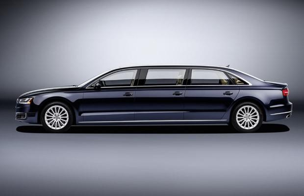 Audi A8 L Extended tem 6,36 metros de comprimento (Foto: Divulgação)