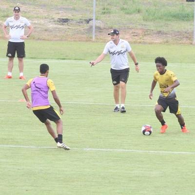 criciúma treino (Foto: Fernando Ribeiro / Criciúma EC)
