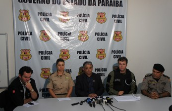 Pol&#237;cia concedeu coletiva para falar da Opera&#231;&#227;o Esqueleto (Foto: Andr&#233; Resende)
