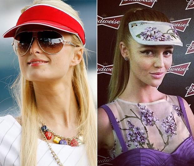 Paris Hilton e Cintia Dicker (Foto: Getty Images   Instagram / Reprodução)