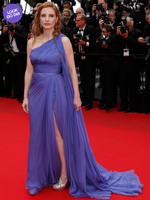 Look do dia - Jessica Chastain (Foto: Reuters)